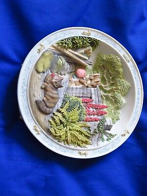 Beatrix Potter Musical Plate Peter Rabbit