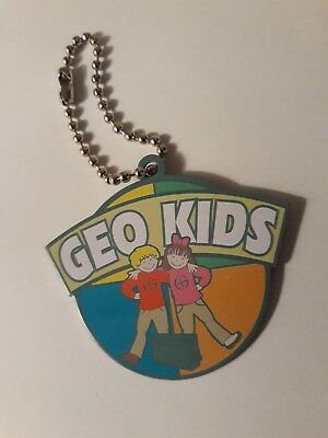 'GEO KIDS' travel tag - unactivated - geocaching
