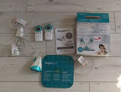 Angel Care Deluxe Movement and Sound Baby Monitor. 2 Monitors. Night Light.