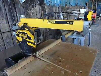 Dewalt Radial Arm Saw DW729 3 Phase
