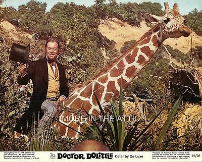 Doctor Dr Dolittle Original Vintage Complete Set Of Us Lobby Cards