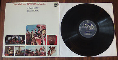 Musical Sources - The Language of Rhythm Japanese Drums NL Press NM Condition