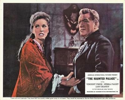 Universal Aip Horror Debra Paget Orig Haunted Palace No Lon Chaney Or Vinnie