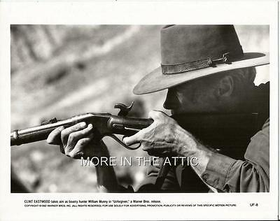 Clint Eastwood Is William Munny Original Unforgiven Western Film Still