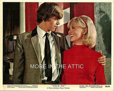 Peter Noone Herman's Hermits Original Hold On Mgm Mini Us Lobby #1