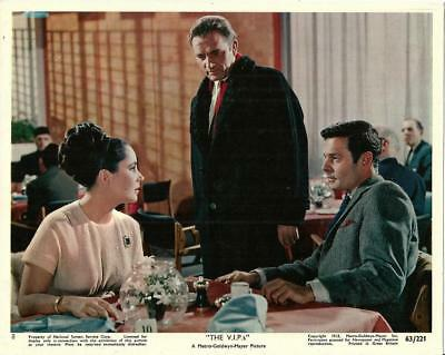 Liz Elizabeth Taylor The Vips Original Vintage Mgm Mini Lobby Still #1
