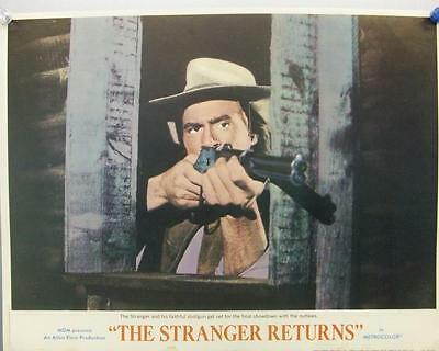 Tony Anthony Stranger Returns Original Spaghetti Western U.s. Lobby Card Set