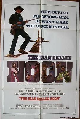 Richard Crenna Is A Man Called Noon Mint Western Us One Sheet Poster