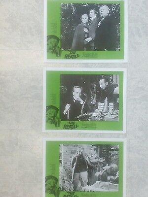 Hammer Horror The Reptile Original Vintage Lot Of 3 Us Lobby Cards