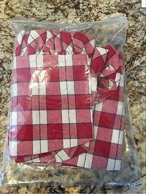 Longaberger Fabric Liner Only In Picnic Plaid For Large Picnic Basket