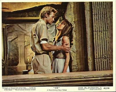 Hammer Horror Stars Peter Cushing Christopher Lee Lot Of 5 Color She Stills