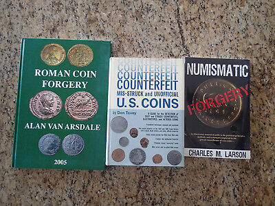 Numismatic US and Roman Forger, Counterfeit, Mis-struck and Unofficial Coins