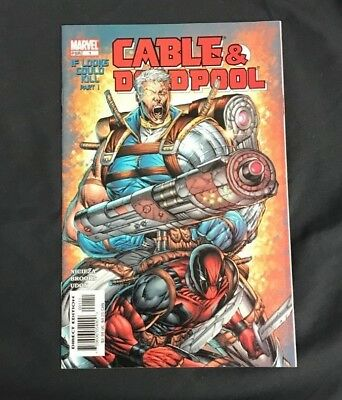 Cable & Deadpool #1 Marvel Comics Modern Age Nm Rare