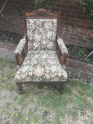 Original Edwardian arm chair