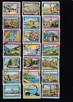 Italy - Tourist Scenes Stamp Sets 2 SCANS (0804)