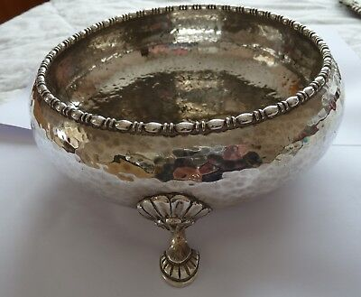 Quality English Mappin & Webb Triple Deposit Princes Silver Plate Round Bowl