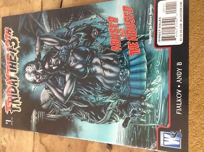 Friday The 13th comic Abuser And The Abused One Shot