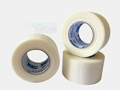 3M Micropore Surgical Tape 2.5cm X 9.1m Fixed Dressing To Wound Low Allergy Tape