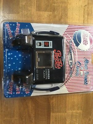 Pepsico Inc Pepsi Personal Cassette Player With Headphones