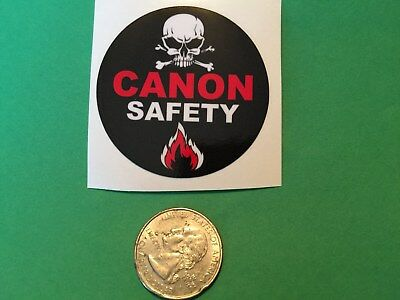Canon Safety Blow Out Gas Field Oil Drilling Hardhat Oilwell Usa Ruff Neck H2S