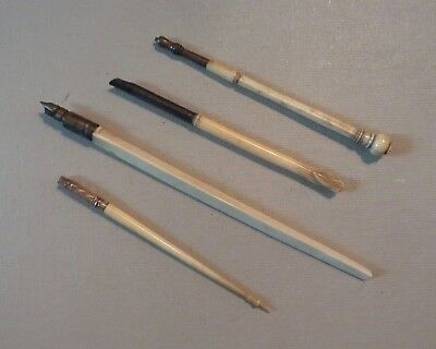 Lot Collection Antique Calligraphy Writing Tools ~ Pen Nib Holder ~ Pencil