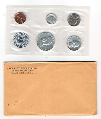 1962, 1963, 1964  US Mint Proof Sets    90% Silver With Original Envelopes