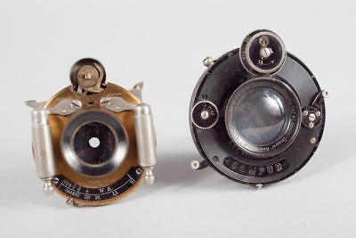 "2 x Vintage ~ Lenses & Shutters ""Wollensak Opt Co"" & ""Romain Talbot"""