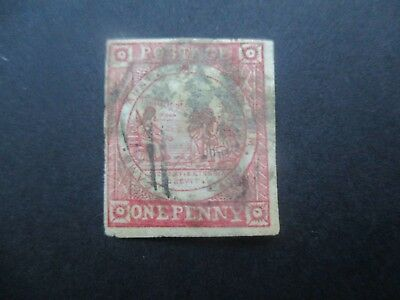 NSW Stamps: 1d Red Sydney Views Used   Free Post  (j12}