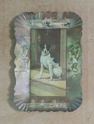 H.A.Clemens,Butcher,Lederach,Pa.,Advertising Tray,1900's