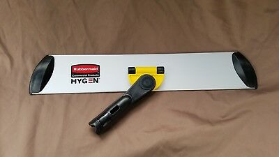"""*NEW*Rubbermaid Q560 Commercial Hygen 18"""" Quick Connect Frame Wet/Dry Mop head"""