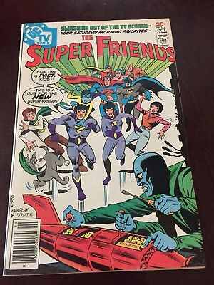 Super Friends #7 First Appearance Of The Wonder Twins Bronze Age DC Comics