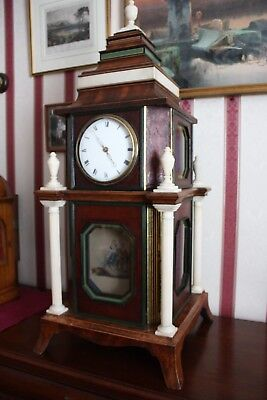 SUPERB UNIQUE REGENCY FORMER ORGAN CLOCK by Willm Robson Cripplgate LONDON c1800