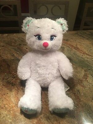 "Disney Frozen Queen Elsa Build A Bear Workshop 17"" Stuffed Animal Plush Doll EUC"
