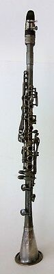 Vintage 'The Gladiator' H. N. White Bb Clarinet sn HH229 w/ Case & Music Lyre