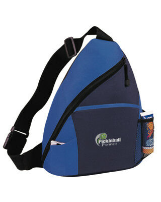 9d4ad8949667b8 Pickleball Marketplace - Sling Bag - Carry Pickleball Paddles -  Blk/Navy/Royal