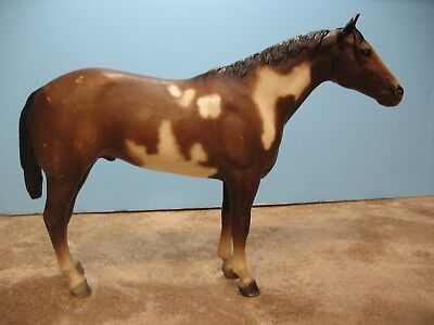 Breyer vintage traditional model horse OVERO PAINT toy shelf or body NR