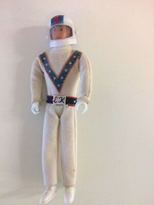 Vintage Ideal  Evel Knievel Figure Racing suit