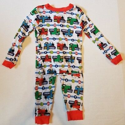 Thomas And Friends Thomas The Tank Train 2 Piece Snug Fit Pajamas Boys 4T