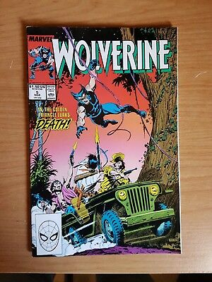 Wolverine #5 Marvel Mar 89 Vf Combine Shipping Rates