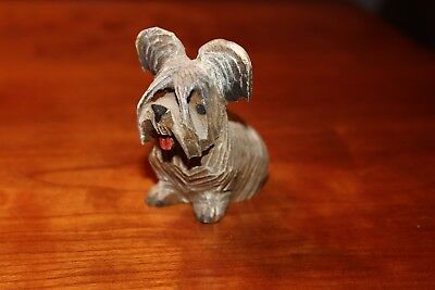 Anri Sitting Skye Terrier - Part of Collection being Sold Off
