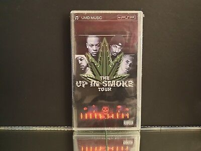 The Up In Smoke Tour NEW/Sealed UMD Video PSP / Sony PlayStation Portable