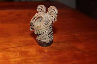 ANRI  Skye Terrier Stopper (less the cork) - Part of Collection being sold off