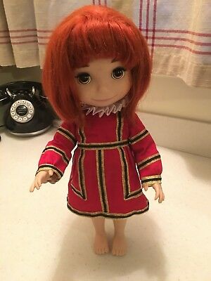 It's A Small World_Disney Animator Collection Singing England Great Britain Doll