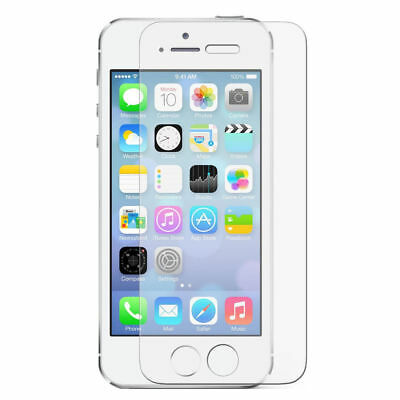 Ultra Clear Tempered Glass Screen Protector For Apple iPhone SE (5/5s/5c) Lw