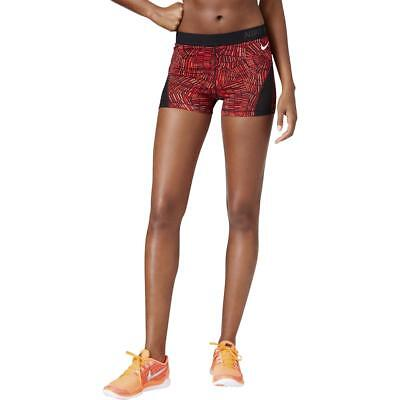 Nike Womens Red Performance Printed Seamed Base Layer XL BHFO 5009