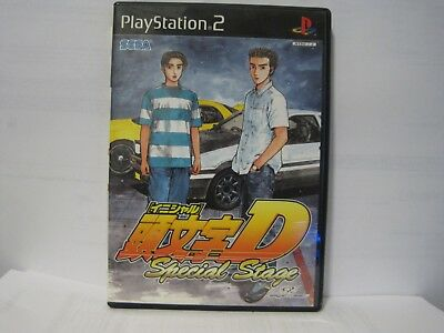 Initial D Special Stage PS2 Japanese Import