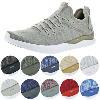 d48a146af78 Puma IGNITE Flash evoKNIT Men s Knit Mid-Top Athleisure Trainer Sneaker  Shoes