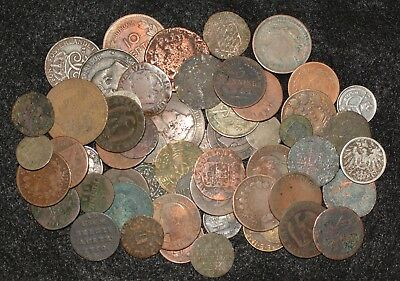 LOT - Mostly 1700s & 1800s Coins #A2