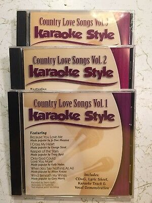Daywind Christian Karaoke Style Cd+g Karaoke New Country Love Songs Volume 1 Karaoke Cdgs, Dvds & Media Karaoke Entertainment