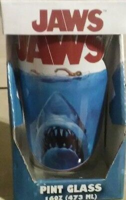 Jaws Movie Poster 16 Oz Pint Tumbler New In Box